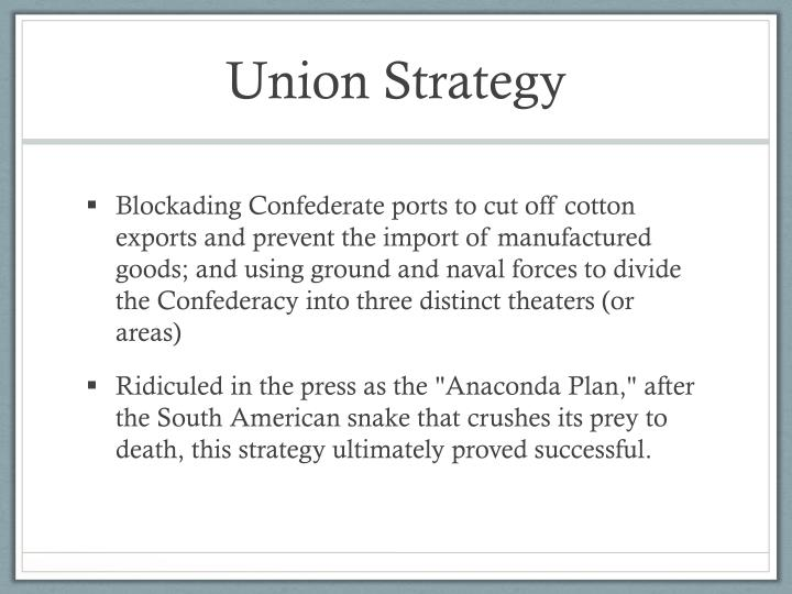 Union Strategy