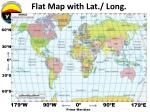 flat map with lat long