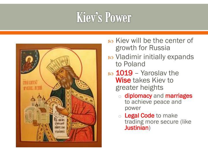 Kiev's Power