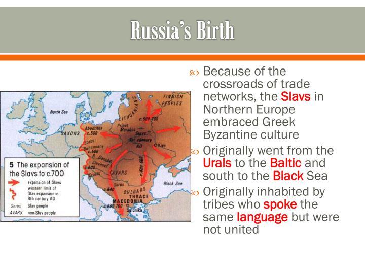 Russia's Birth