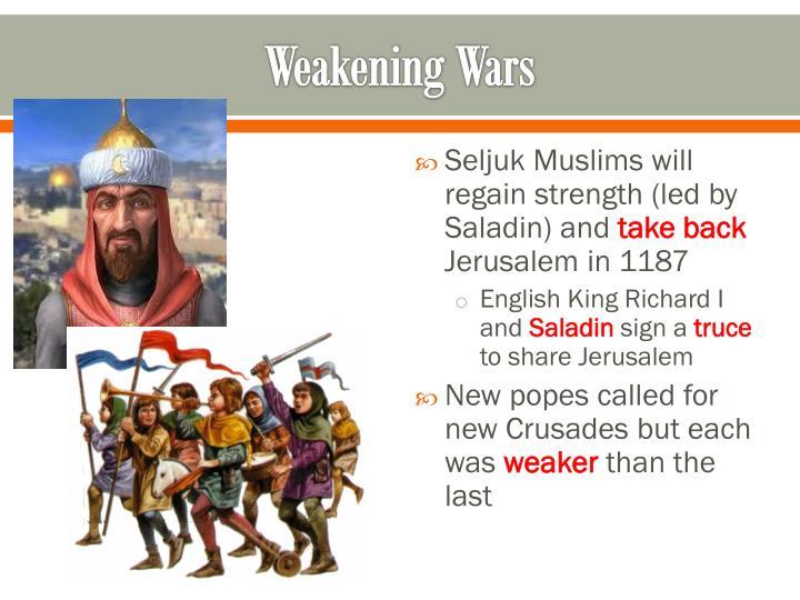Weakening Wars