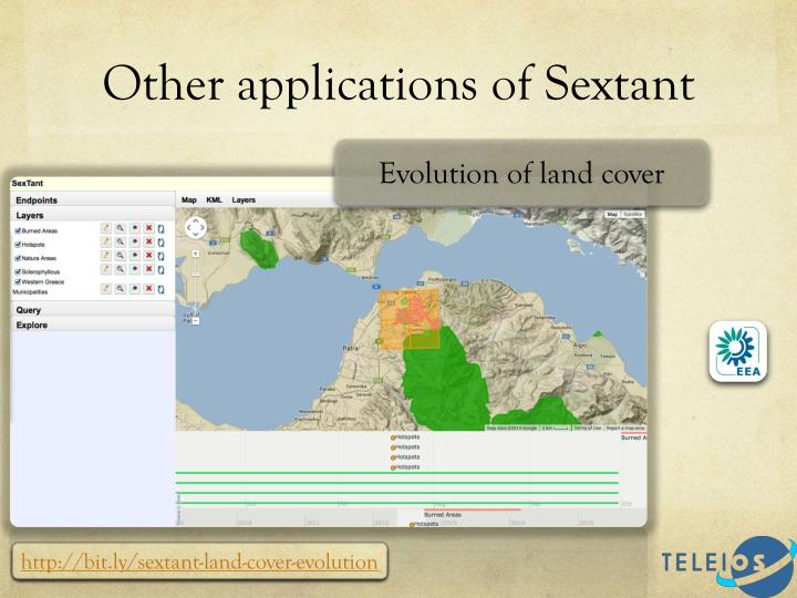 Other applications of Sextant