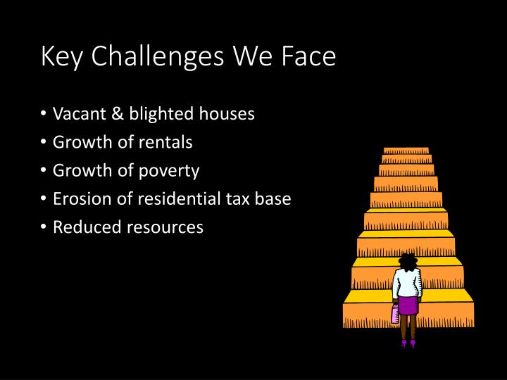 Key Challenges We Face