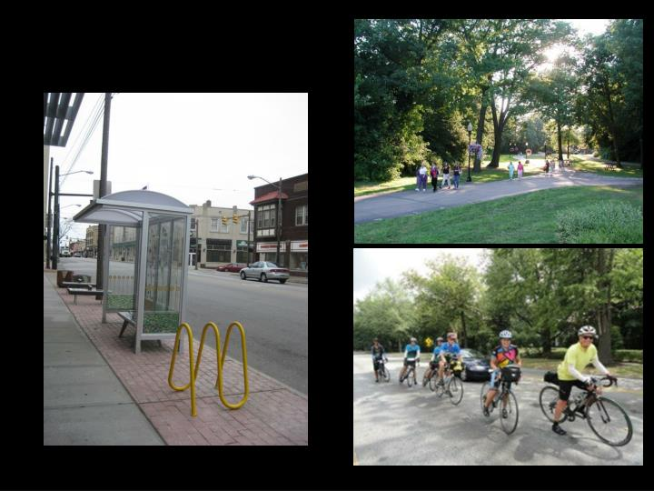 Bus, Car, Bicycle or Walk…