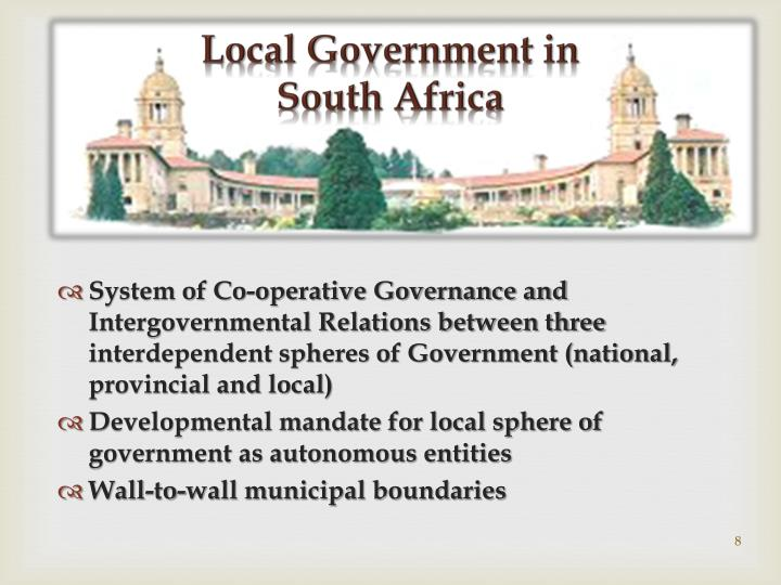 Local Government in