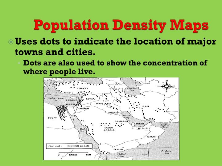 Population Density Maps