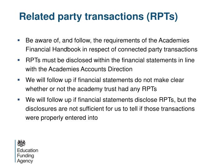 Related party transactions (RPTs)