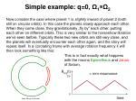simple example q 0 1 21