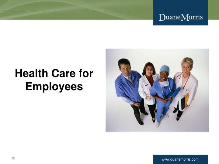 Health Care for Employees