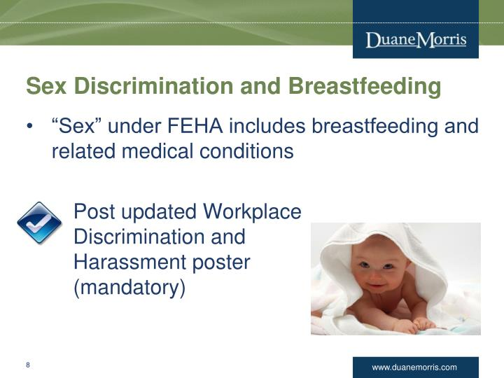 Sex Discrimination and Breastfeeding
