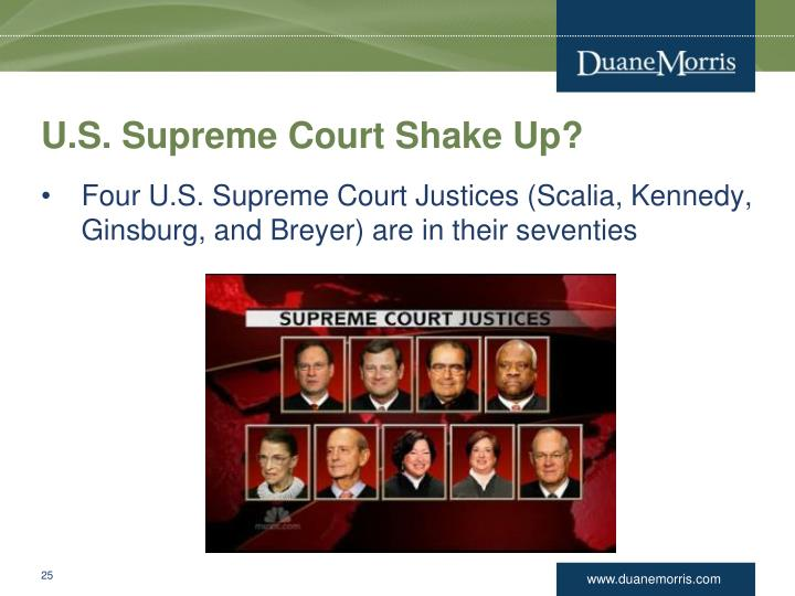 U.S. Supreme Court Shake Up?