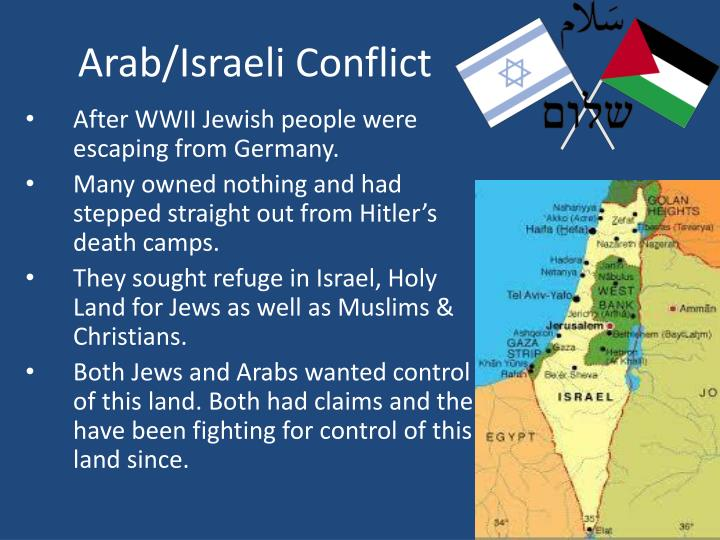 Arab/Israeli Conflict