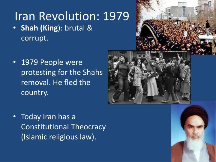 Iran Revolution: 1979
