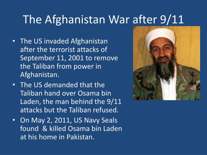 The Afghanistan War after 9/11