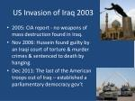us invasion of iraq 20031