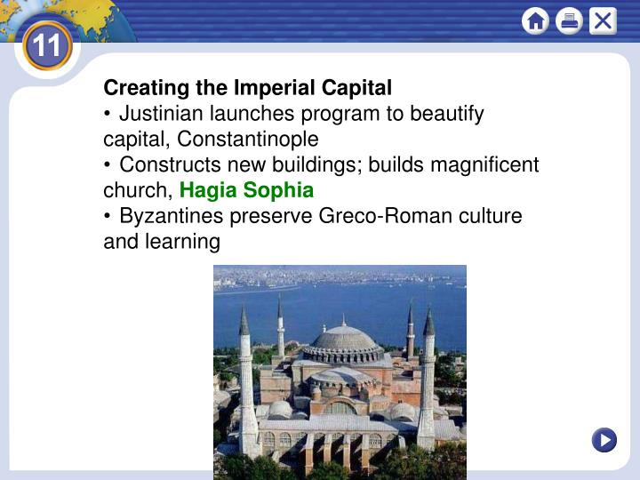 Creating the Imperial Capital