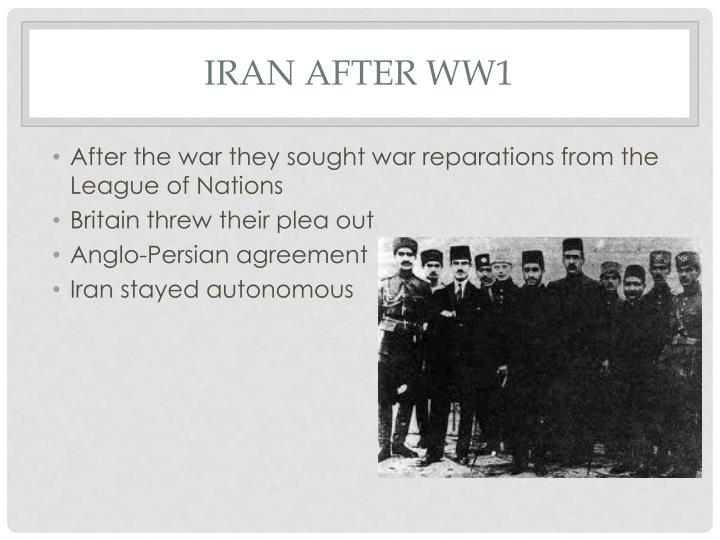 Iran after ww1