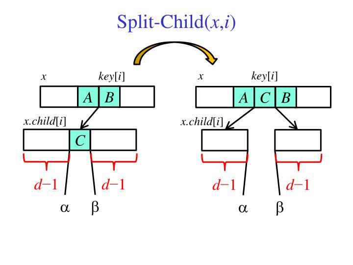 Split-Child(