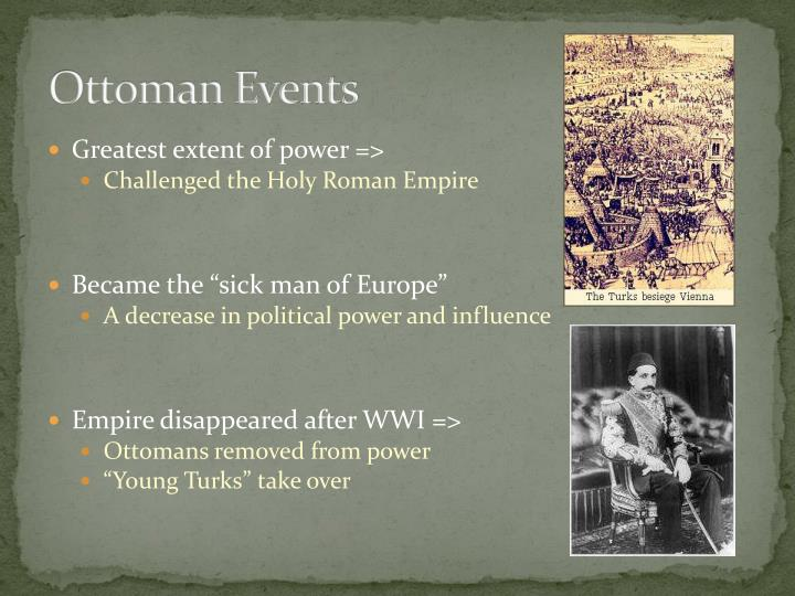 Ottoman Events