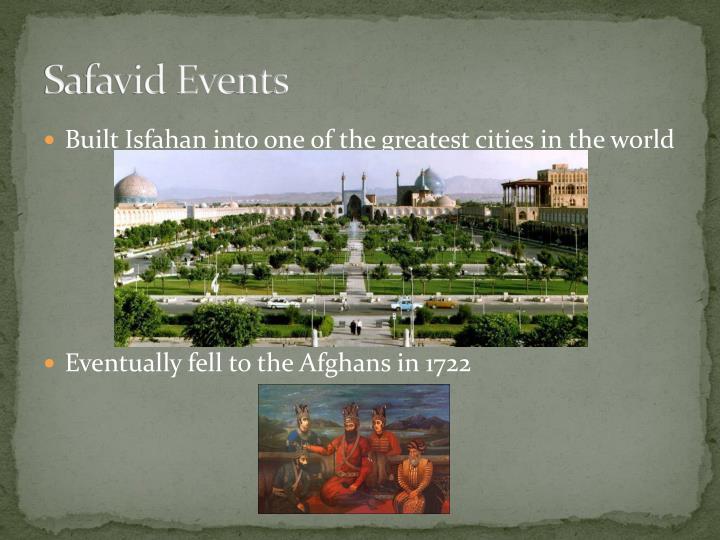 Safavid Events