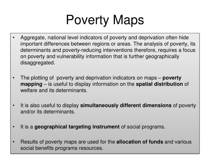 Poverty Maps