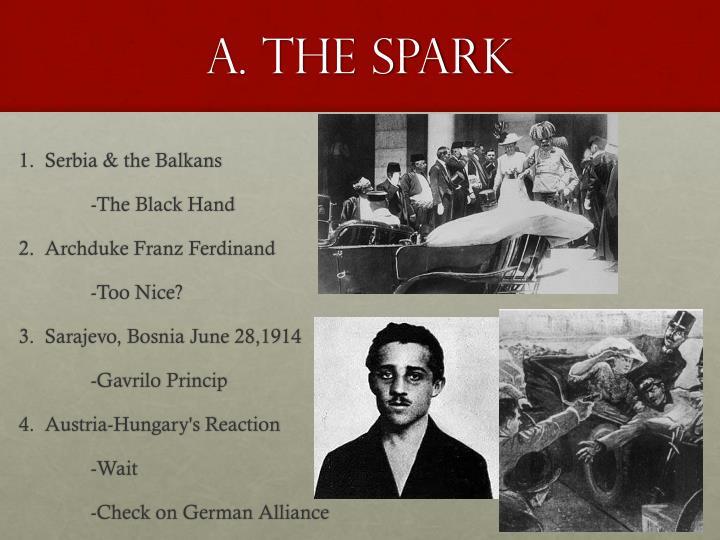 A. The spark
