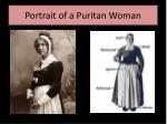 portrait of a puritan woman