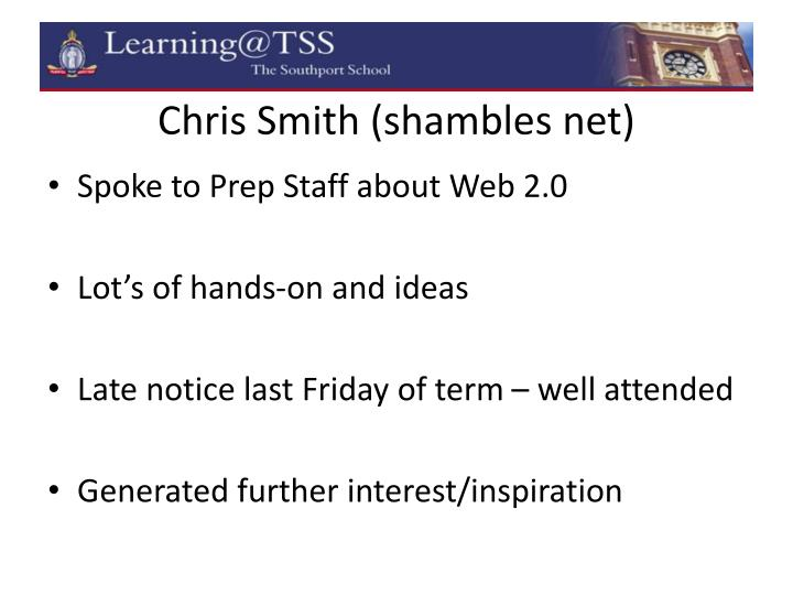 Chris Smith (shambles net)