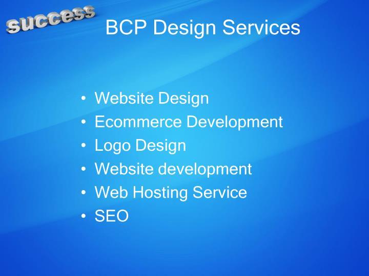 BCP Design Services