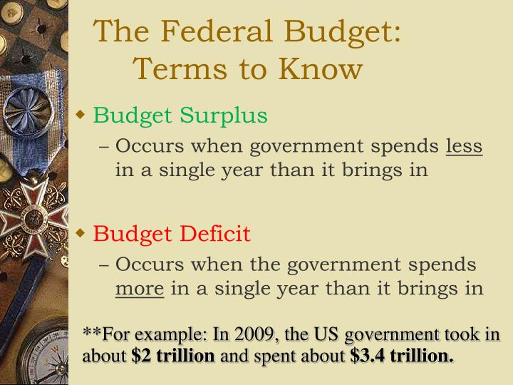 The Federal Budget: