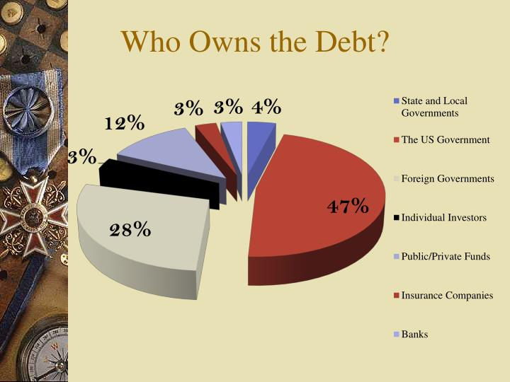 Who Owns the Debt?
