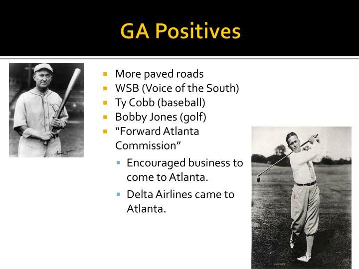 GA Positives