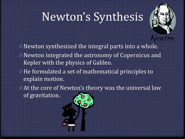 Newton's Synthesis