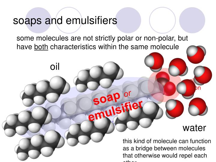 soaps and emulsifiers