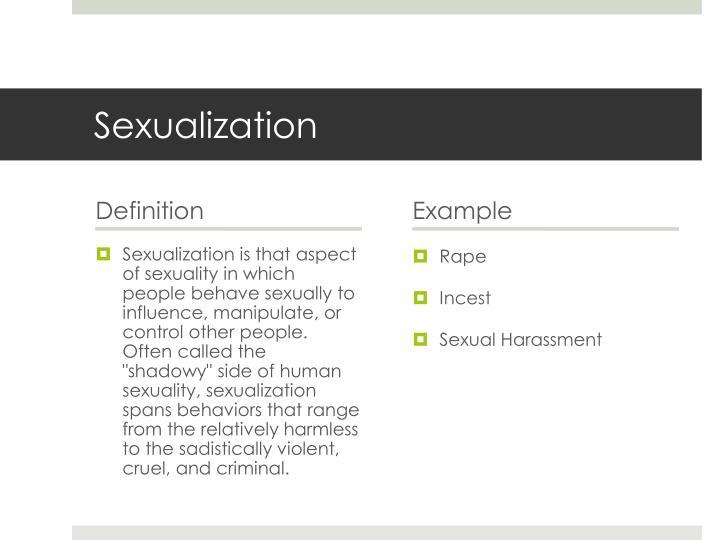 Sexualization