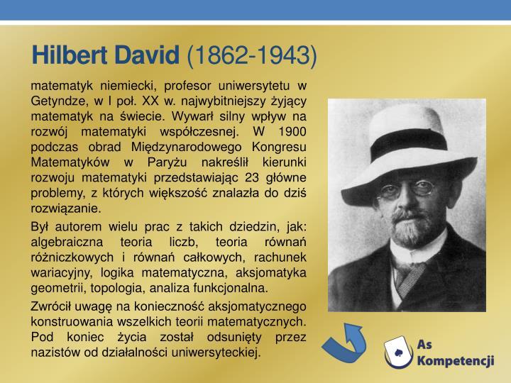 Hilbert David