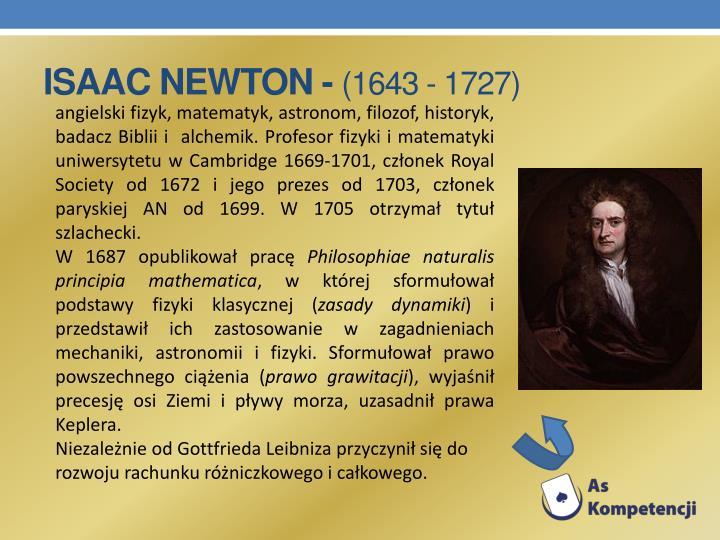 Isaac Newton -