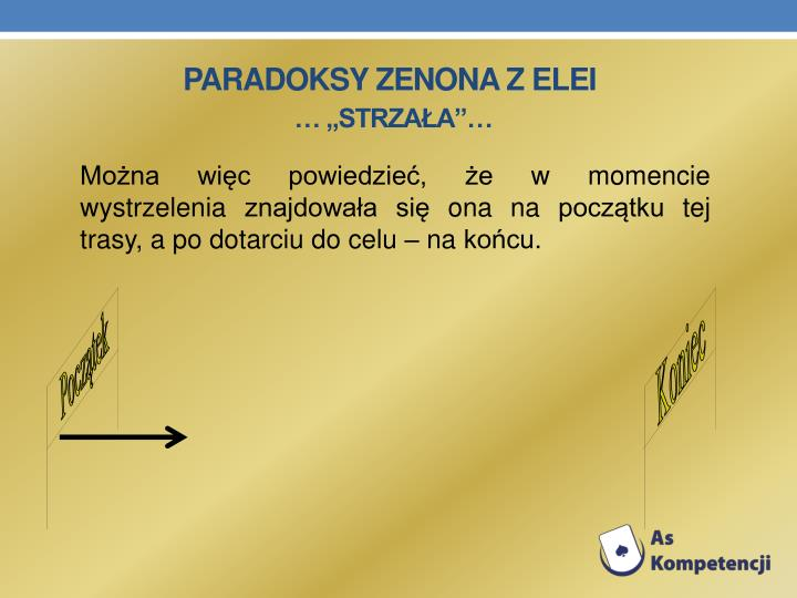 Paradoksy Zenona z