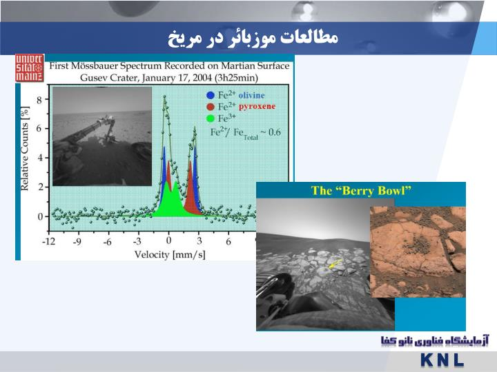 مطالعات موزبائر در مریخ