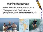 marine resources1