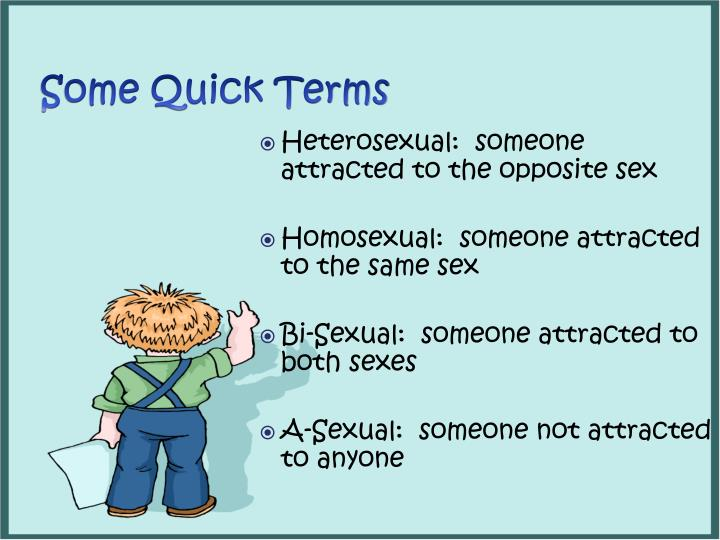 Some Quick Terms