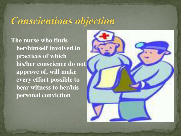 Conscientious objection