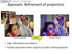 approach refinement of projections