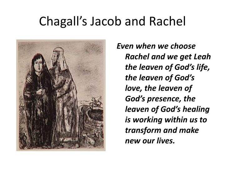 Chagall's Jacob and Rachel