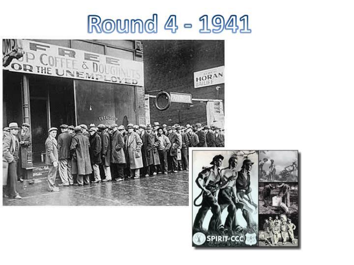 Round 4 - 1941