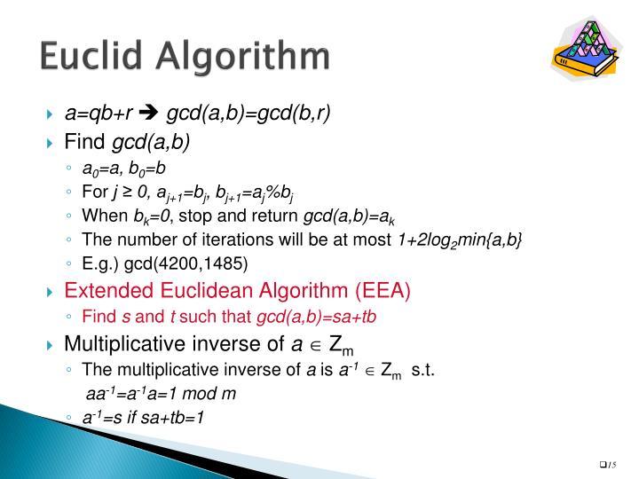 Euclid Algorithm
