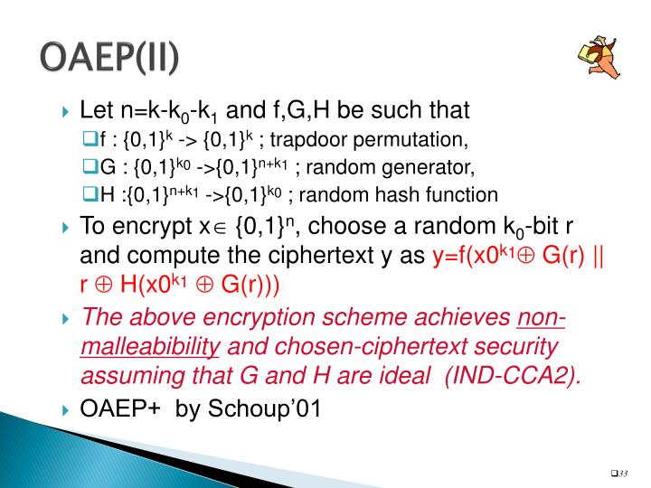 OAEP(II)