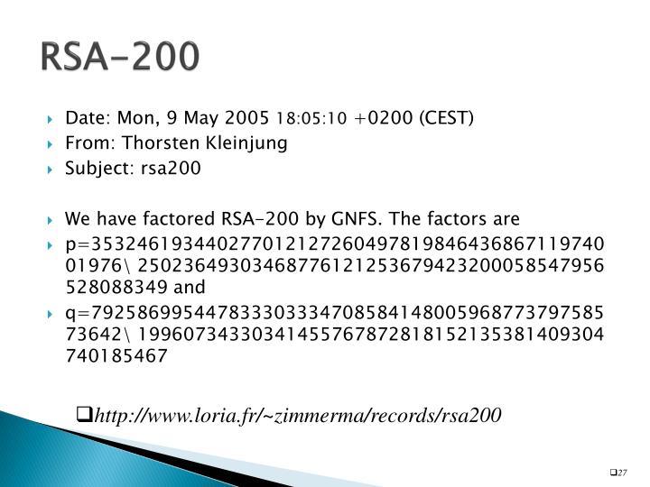 RSA-200