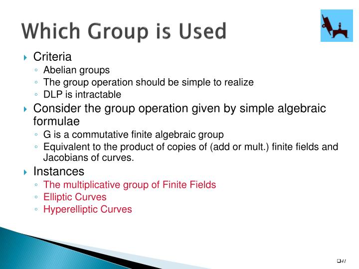 Which Group is Used