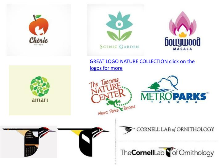GREAT LOGO NATURE COLLECTION click on the logos for more